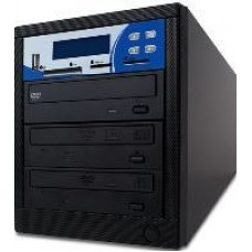 DRUCKER SCHWEIZ 1:2 Multi-Format Kopierstation,  CD + DVD + DVD DL+ USB Stick + SD + CF + MS + MMC Card, 2 Brenner
