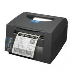 Citizen CL-S521, 8 Punkte/mm (203dpi), Peeler, ZPL, Datamax, Dual-IF, schwarz