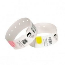 Zebra Z-Band Splash, gelb, Z-Band Splash Armbänder für Zebra HC100 Drucker, 6x Cartridges pro Kit (350 Bänder pro Cartridge), Farbe: gelb