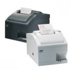 *TOP* Star SP712-M, dunkelgrau, Bondrucker, Nadeldruck (zweifarbig), Medienbreite (max): variable Papierbreite (58/69,5/76mm), Geschwindigkeit (max.): 8,9lps, ESC/POS, Star, inkl.: Netzteil, Netzkabel (CH+UK), separat bestellen