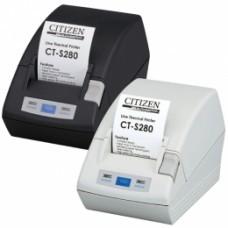 Citizen CT-S281L, RS232, 8 Punkte/mm (203dpi), Cutter, weiß
