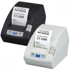 *TOP* Citizen CT-S281L, USB, 8 Punkte/mm (203dpi), Cutter, weiß