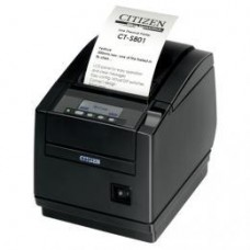 Citizen CT-S801II, BT, 8 Punkte/mm (203dpi), Cutter, Display, schwarz
