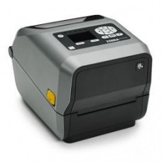 Zebra ZD620d, 8 Punkte/mm (203dpi), Cutter, RTC, Display, EPLII, ZPLII, USB, RS232, BT, Ethernet, WLAN, weiß