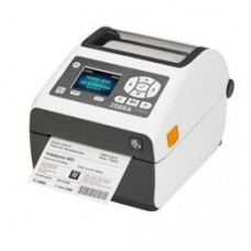 Zebra ZD620d Healthcare, 12 Punkte/mm (300dpi), Cutter, RTC, Display, EPLII, ZPLII, USB, RS232, Ethernet, weiß