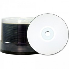CD-R 80 JVC/TY (by CMC PRO) 48x Inkjet white Full Surface WaterPro 100er Bulk
