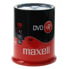 DVD-R 4.7GB Maxell 16x 100er Cakebox