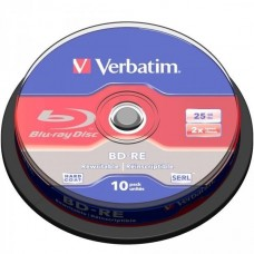 BD-RE 25GB Verbatim 2x 10er Cakebox