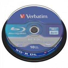 BD-R 50GB Verbatim 6x 10er Cakebox