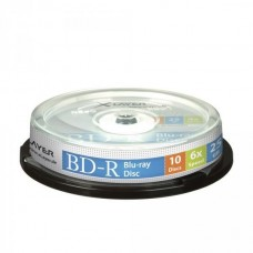 BD-R 25GB XLayer 6x 10er Cakebox