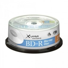 BD-R 25GB XLayer 4x 25er Cakebox