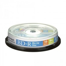 BD-R 25GB XLayer 6x Inkjet white 10er Cakebox