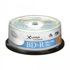BD-R 25GB XLayer 4x Inkjet white 25er Cakebox