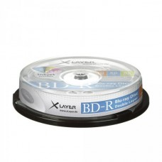 BD-R DL 50GB XLayer 6x Inkjet white 10er Cakebox