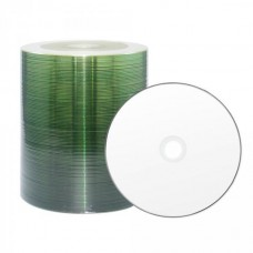 CD-R 80 XLayerPro 52x Inkjet white Full Surface Full Metalized 100er Bulk