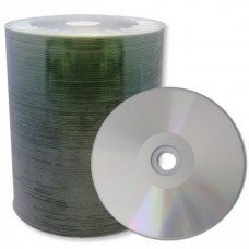 CD-R 80 XLayerPro 52x Thermo silver Full Surface Full Metalized 100er Bulk