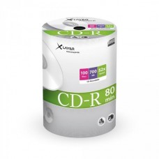 CD-R 80 XLayer 52x 100er Shrink Pack