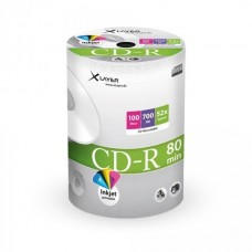 CD-R 80 XLayer 52x Inkjet white Full Surface 100er Cakebox