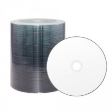 CD-R 80 XLayer Value 52x Inkjet white Uniform White Full Surface Full Metalized 100er Cakebox